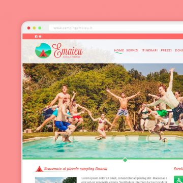 Sito Web Camping Emaieu Tortona