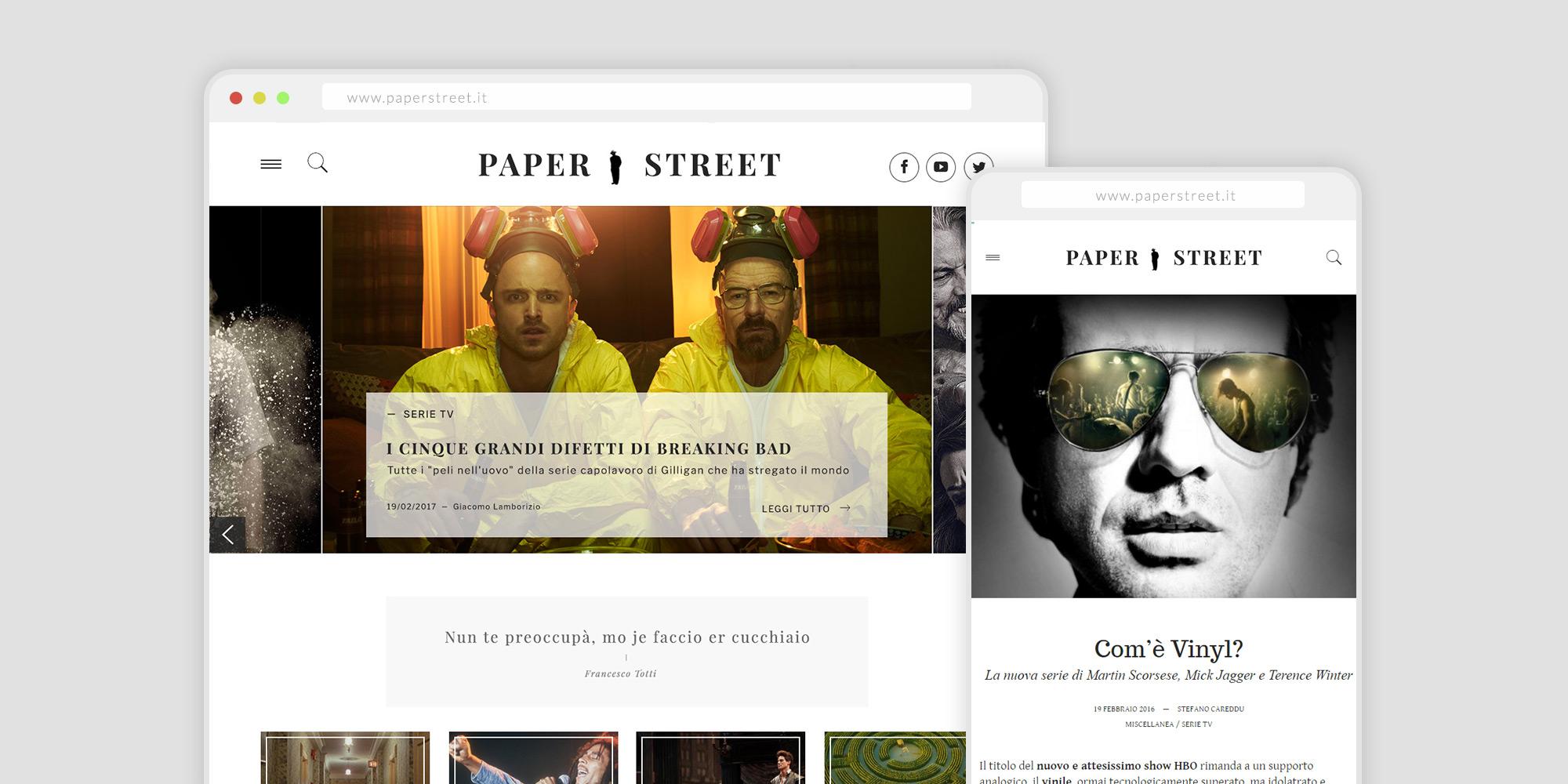 Paper Street – Rivista Online