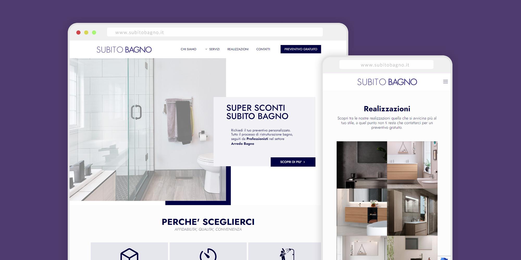 Siti Web Alessandria - Subito Bagno
